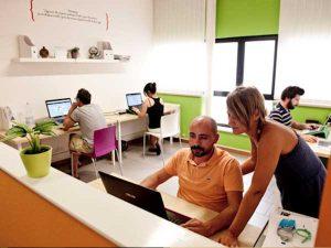 Postazioni di lavoro in Area Open Space